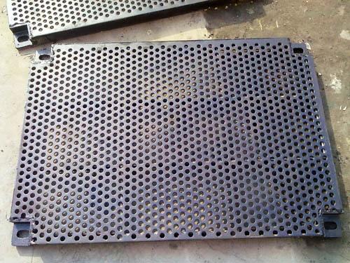 西安钢板chong孔加工05