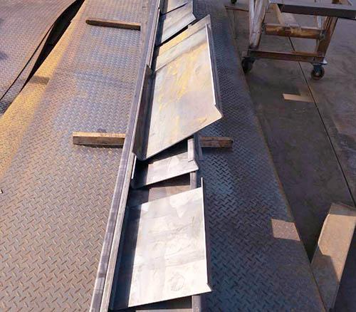 西安钢板折弯加工案例