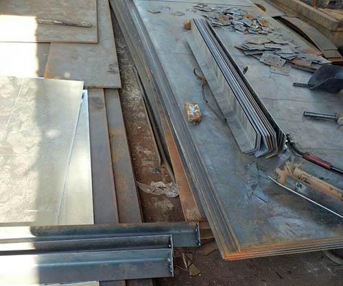 西安钢板折弯加工案li